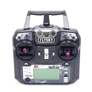 Image 2 - Оригинальный Flysky FS i6X 10CH 2,4 ГГц AFHDS 2A передатчика радиоуправляемой модели к компьютеру с FS iA6B FS iA10B FS X6B FS A8S приемник для RC Самолет режим 2