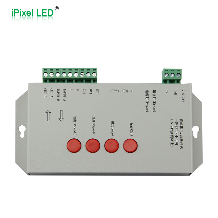 High Quality DC5 24v RGB T 1000s LED Controller with lededit software rgb controller rgb controller ledrgb led controller - title=