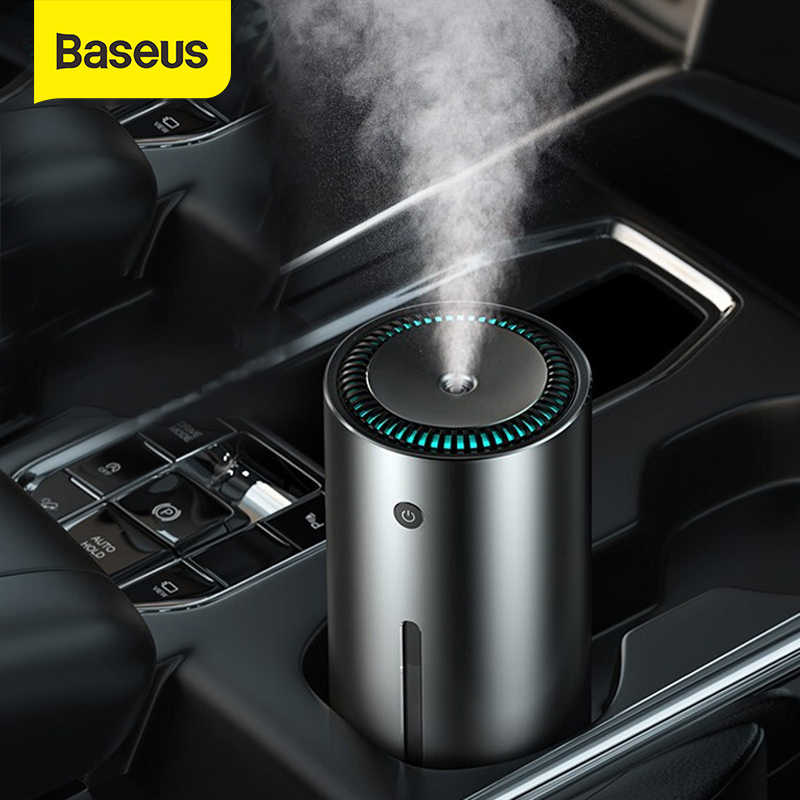 BASEUS Car Air Purifier Humidifier Aluminium Alloy 300 Ml Auto Armo Diffuser AIR FRESHENER Humidifier untuk Mobil
