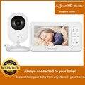MBOSS 4.3inch Draadloze Video Babyfoon 2 Weg Talk Babyfoon Met Camera Ondersteuning 4 Camera 'S VOX Modus Temperatuur monitoring