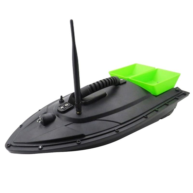 Smart Bait Boat de doble Motor buscador de peces Barco de Control remoto 500M barcos de pesca lancha rápida con enchufe de la UE