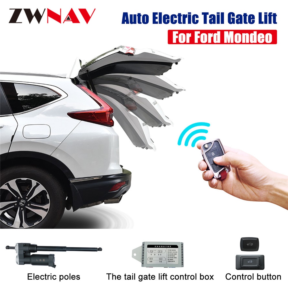 Easy To Install Smart Auto Electric Tail Gate Lift For Ford  Mondeo 2013 With Remote Control Drive Seat Button Control