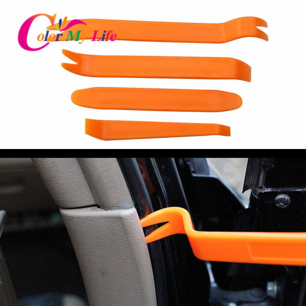 4 Stks/set Auto Audio Deur Removal Tool Voor Volvo Ford Focus Vw Volkswagen Jetta MK6 Golf 5 6 7 Voor skoda Fabia Voor Chevrolet Cruze