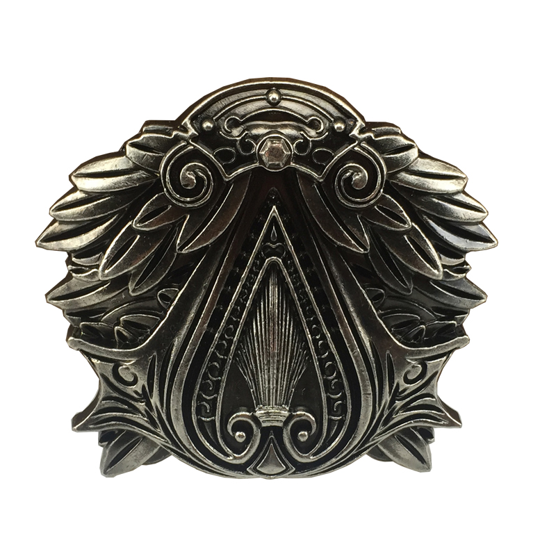 NEW ASSASSIN\'S CREED THE EZIO BELT BUCKLE FULL METAL GAMING BUCKLE
