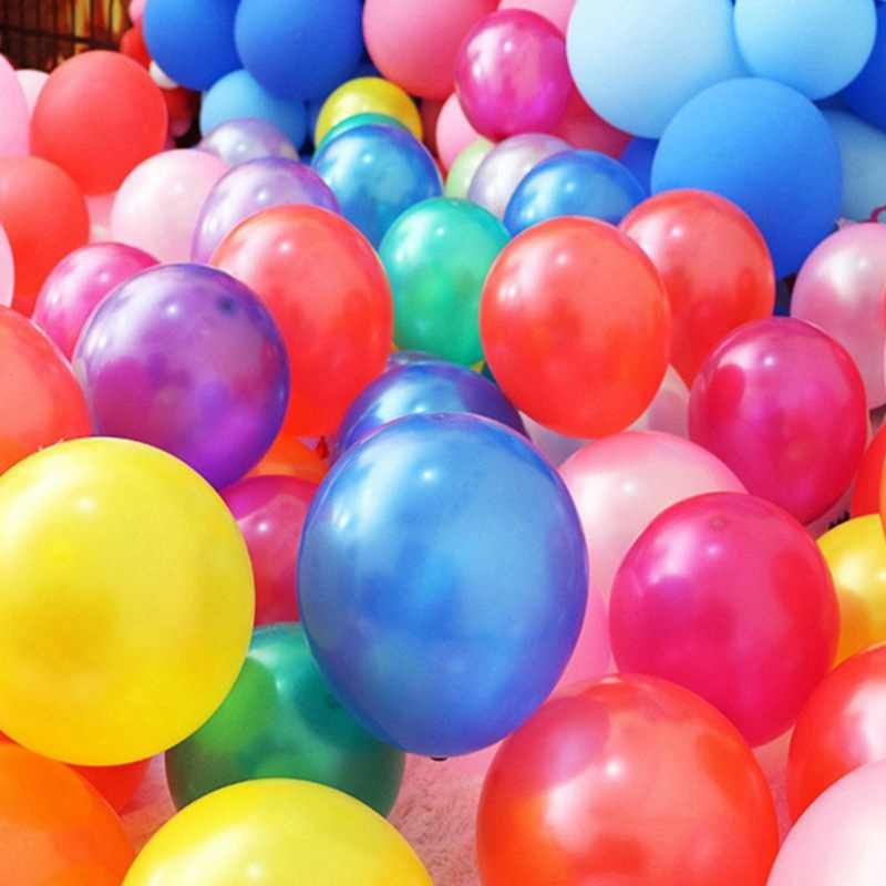 50 pçs/lote 10 polegada 1.5g Pérola Latex Balões Festa Feliz Aniversário Balão de Casamento Decoração de Natal Crianças Brinquedo Bolas de Ar globos