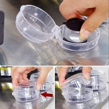Cover Oven Kitchen Lock-Protector Knob Padlock-Lid Gas-Stove Baby Safety 2pcs