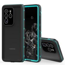 Funda de buceo resistente al agua IP68 para Samsung Galaxy S20 S10 Note 10 Plus, cubierta completa a prueba de polvo para Samsung S20 Ultra Shell
