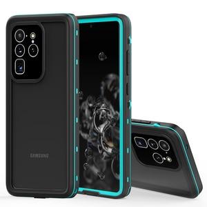 Image 1 - Водонепроницаемый чехол для дайвинга IP68 для Samsung Galaxy S20 S10 Note 10 Plus, чехол для плавания, Пыленепроницаемый Чехол с полным покрытием для Samsung S20 Ultra, чехол
