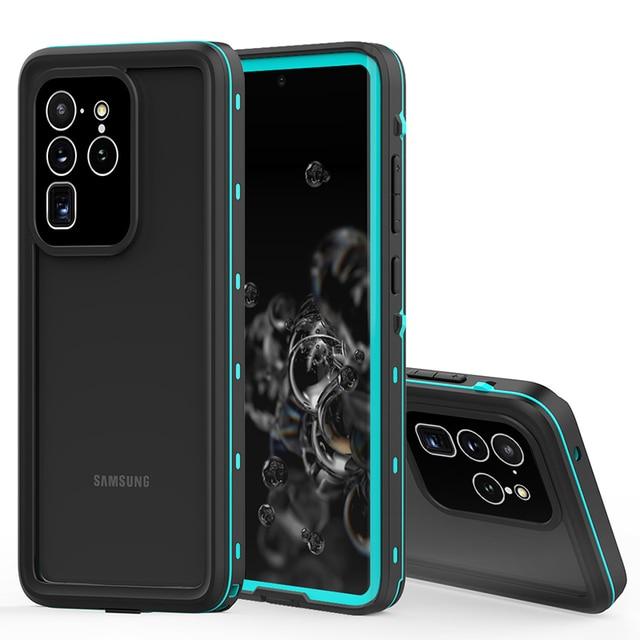 Водонепроницаемый чехол для дайвинга IP68 для Samsung Galaxy S20 S10 Note 10 Plus, чехол для плавания, Пыленепроницаемый Чехол с полным покрытием для Samsung S20 Ultra, чехол