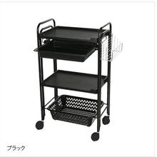 купить Beauty salon nail small instrument cart three-layer tool trolley rack hair salon hair salon hot dye cart. дешево