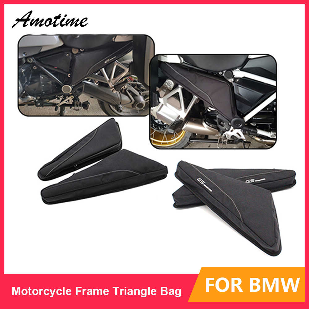 Sepeda Motor Alat Perbaikan Penempatan Tas Frame Segitiga Paket Toolbox untuk BMW R1200GS ADV LC R1250GS F750GS F850GS R1200R R1250R
