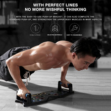 Multifunctionele Body Building Workout Oefening Push Up Stand Abdominale Borst Spier Triceps Trainer Board Fitness Apparatuur