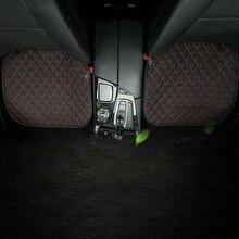 1 шт. 50x50 см Нескользящая Автомобильная кожаная Передняя подушка чехол для сиденья дышащая Замена