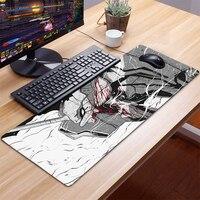 Evangelion-almohadilla de ratón con Logo para Gaming, Accesorios para ordenador, teclado, portátil, alfombrilla de ratón de velocidad para escritorio