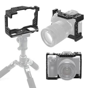 Image 1 - Aluminium Qr Handheld Camera Kooi Voor Sony A7RIII/A7III/A7MIII Slr Dslr Mount Statief Beugel Fotografie Extension Kit