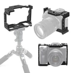 Image 1 - アルミ QR ハンドヘルドカメラケージソニー A7RIII/A7III/A7MIII 一眼レフマウント三脚ブラケット写真撮影延長キット