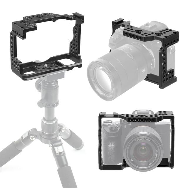 アルミ QR ハンドヘルドカメラケージソニー A7RIII/A7III/A7MIII 一眼レフマウント三脚ブラケット写真撮影延長キット