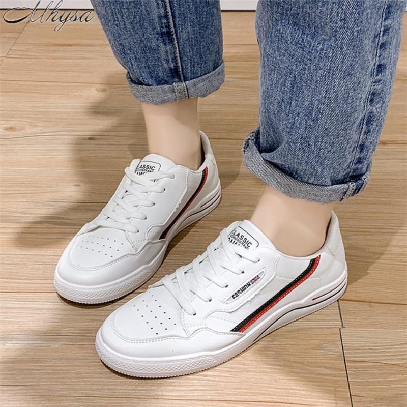 Mhysa New Women's Lace Spring  Autumn Sneakers  2020  Casual Comfortable Casual Shoes Women's Fashion Zapatillas Mujer Y256