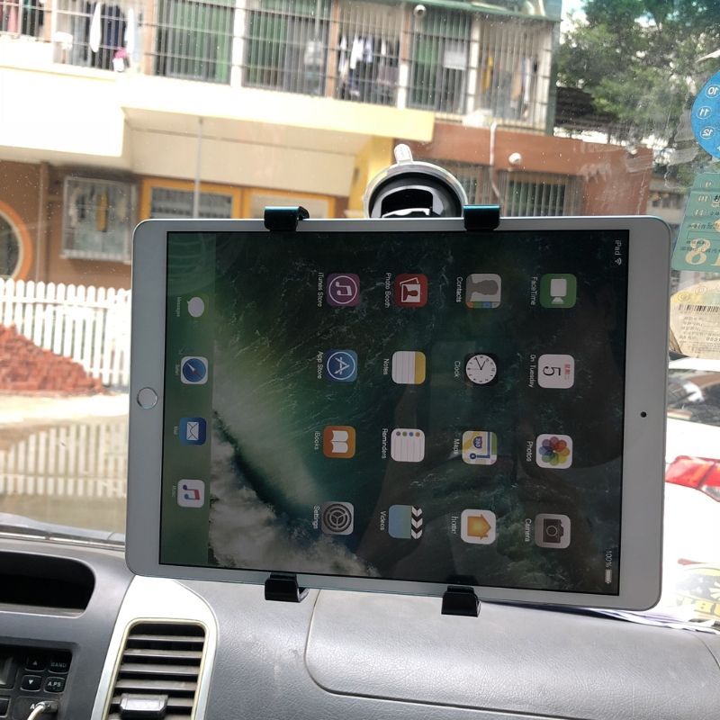 Car Windshield Dashboard Mount Holder Stand For 7-11 inch iPad Xiaomi PC Tablet