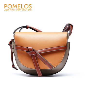 Women Bag Fashion High Quality Split Leather Brand Luxury Shoulder Bag Crossbody Bags for Women Purses and Handbags brown color