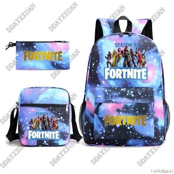 Fortnite Woman Usb Charger plecaki 3D Print chłopcy dziewczęta nastolatek torby szkolne torby szkolne na laptopy dla nastoletnich prezentów urodzinowych tanie i dobre opinie NYLON CN (pochodzenie) wytłoczone Unisex Miękka osłona 20-35 litrów Otwór na wyjście miękki uchwyt zipper wytrzymała torba