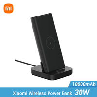 Xiaomi Wireless Power bank 30W 10000mAh WPB25ZM Typ C Mi Power 10000 Qi Schnelle Drahtlose Ladegerät Tragbare Lade poverbank