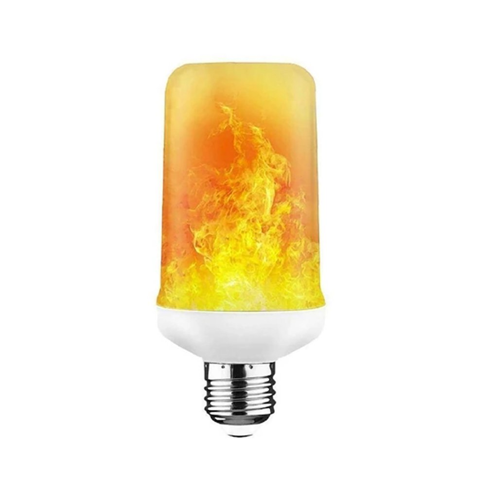 Led Jumping Flame Bulb Decoration Simulation Dynamic Flame Effect Flashing Mode E27 Special Decorative Light