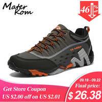35-45 chaussures de Trekking amoureux en plein air hommes chaussures de randonnée imperméables bottes de montagne en cuir véritable chaussures tactiques de chasse en bois