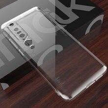 Imak transparente transparente tpu caso para xiaomi mi 10 pro mi10 ultra macio silicone capa
