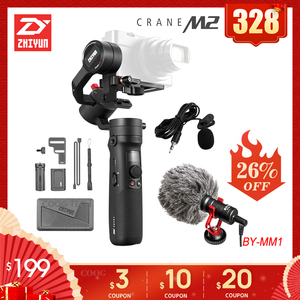 Image 1 - Zhiyun クレーン M2 3 軸ジンバルカメラミラーレスカメラ用ハンドヘルドアクション pk クレーン 2 移動プロヒーロー 5 6 7 スマートフォン