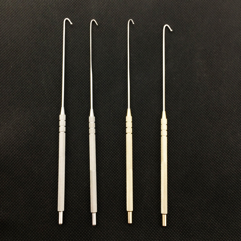 Ovariectomy Hook Spay Snook Hook Veterinary Orthodontic Instruments Hook Animal Ovaries Vet Snook 6mm,8mm,10mm,12mm