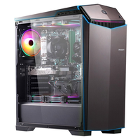 IPASON-ordenador de sobremesa para videojuegos AMD 6-Core R5 3600 RTX3060 12G DDR4 16G RAM 500G M.2 refrigerado por agua