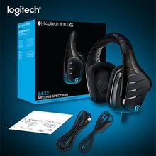 Logitech G633 7.1 RGB oyun kulaklığı Surround ses oyun kulaklıkları mikrofon kafası fare oyun PUBG LOL Overwatch