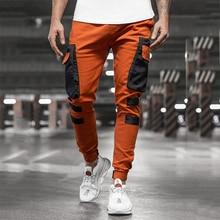 Trousers Hipster-Pockets Sweatpants Men Jogger-Pants Track Harem Streetwear Harajuku
