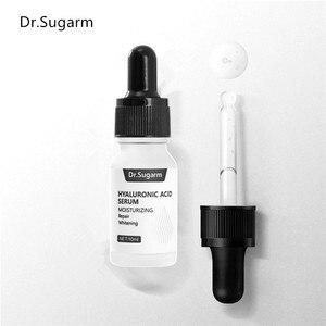 Image 2 - Hyaluronik asit yüz serumu cilt bakımı özü küçültmek gözenek nemlendirici onarım beyazlatma Anti aging kuru yüz kremi