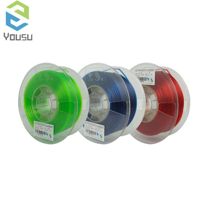 Пластиковая нить YouSu HIPS/NYLON/PETG/ABS/TABS/TPLA/PLA/PLUS/PRO/для 3D-принтера, creality ender-3/pro/v2/anycubic/из России