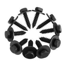 Винты самонарезающие металлические шестигранные для корпуса автомобиля, 20 шт.