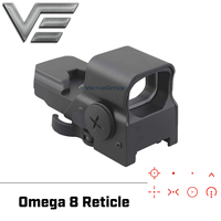 Vector Optics Omega Tactical Reflex 8 Reticle Red Dot Sight High End Quality Scope fit for .223 AR15 7.62 AK47 12ga