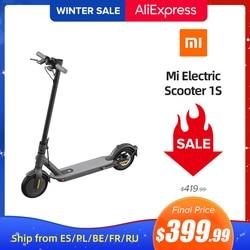 Mi Electric Scooter 1S Original Mijia Foldable Mi Lightweight Skateboard Max Speed Distance 7650mAh/275Wh