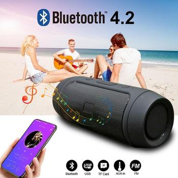 mini portable cute robot smart bluetooth speaker with music calls handsfree tf mp3 aux function for all bluetooth devices Waterproof Portable Speaker Mini Bluetooth Music Bass SpeakerSubwoofer Outdoor Wireless Loudspeaker Support TF FM Radio Aux