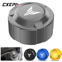 For Yamaha MT07 MT 07 MT09 MT 09 YZFR3 R25 Motorcycle Accessories Rear Brake Fluid Reservior Cover 2021 2020 2019 2018 2017 2016