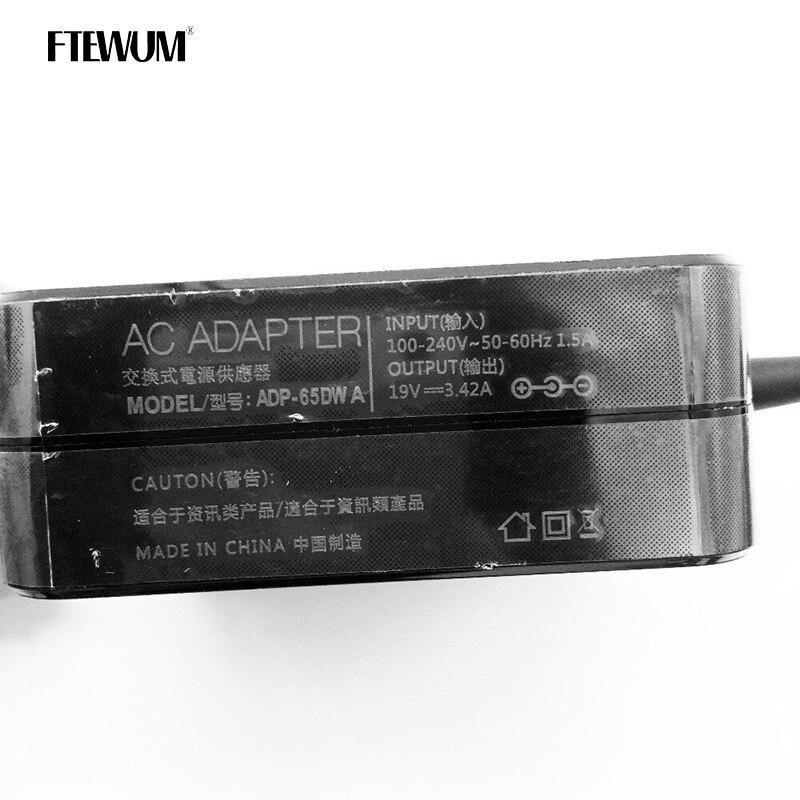 carregador portátil dc adaptador ADP-65DW para asus