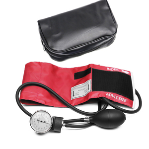 Image 5 - מקצועי למבוגרים ידנית לחץ דם צג BP קאף עליון זרוע אנארוידי מד לחץ דם Tonometer עם מד לחץ