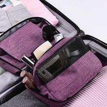 Litthing Hanging Waterproof Multifunction Cosmetic Bag Large Capacity Travel Storage Toiletry
