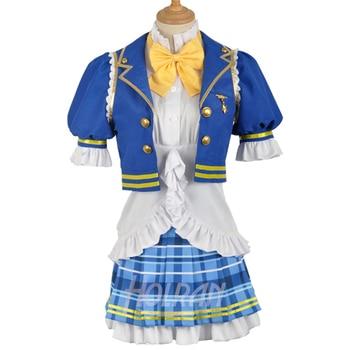 lovelive Aqours SR Awakening Sailor Party lolita princess uniform Kousaka Honoka Minami Kotori Sonoda Umi cosplay costume outfit