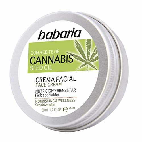 Babaria - Babaria Face Cream With Cannabis Seed Oil 50ml - Btsw-150874