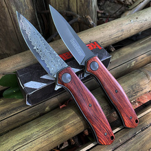 EDC knife kershaw 4020 built-in bearing Outdoor Folding knife 8CR13MOV +G10 Blade Carry around knife Multifunction Pocket knife