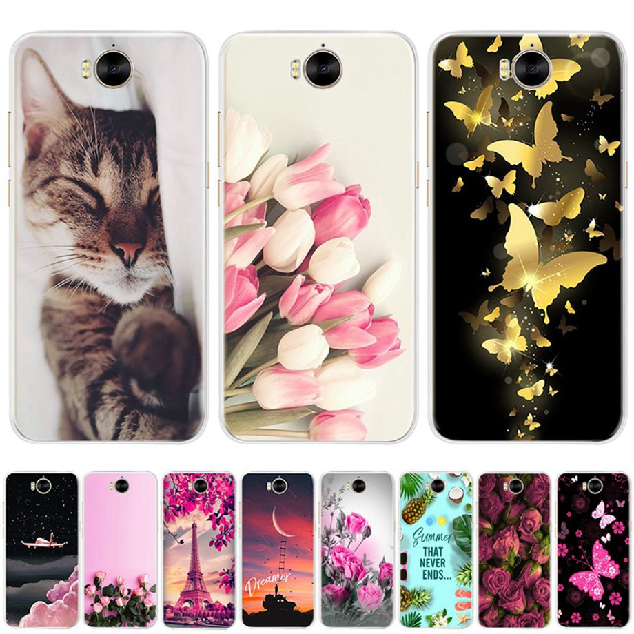 for <font><b>Huawei</b></font> Y5 <font><b>2017</b></font> <font><b>Case</b></font> Cover <font><b>Silicone</b></font> <font><b>Huawei</b></font> <font><b>Y6</b></font> <font><b>2017</b></font> Mya-l22 <font><b>Case</b></font> Cute Bags Phone Back Bumper Housing for fundas <font><b>Huawei</b></font> Y5 <font><b>2017</b></font> image