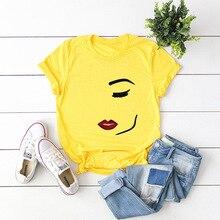 Women Shirt Fashion Women's Tshirts Tee Top 100% Cotton Female T-shirt Ladies Tops Short Sleeve T Shirts Tees Top Printed Tshirt цена