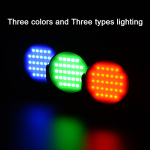 Image 2 - FOTOBETTER Adjustable LED Video Light Round RGB Full Color Fill Light Photography Lighting with Extend Magic Arm